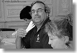 black and white, europe, france, grasse, horizontal, men, molinard, people, perfumerie, perfumes, provence, sniffing, photograph