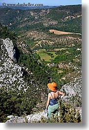 activities, europe, france, hikers, hiking, mountains, people, provence, vertical, photograph