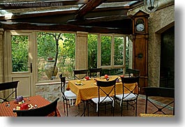 dining, europe, france, horizontal, hotel des messugues, provence, rooms, photograph