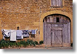 europe, france, horizontal, laundry, provence, photograph
