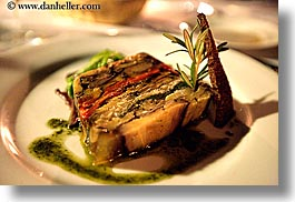 dinner, dishes, europe, foods, france, horizontal, moulin de camandoule, provence, vegetables, photograph