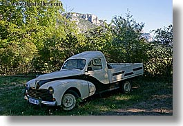 arts, classic car, europe, france, horizontal, moustiers, peugeot, provence, st marie, transportation, trucks, photograph