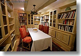 bastide moustiers, europe, france, horizontal, library, moustiers, provence, rooms, st marie, photograph