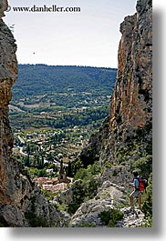 europe, france, landscapes, men, moustiers, provence, scenics, st marie, vertical, viewing, photograph