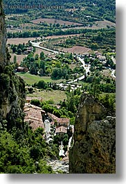europe, france, moustiers, overlook, provence, scenics, st marie, towns, vertical, photograph