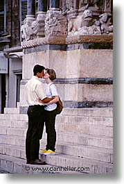 couples, europe, france, kissing, people, provence, vertical, photograph