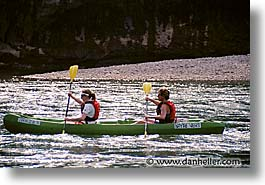 canoes, europe, france, horizontal, men, people, provence, rivers, rppl, womens, photograph