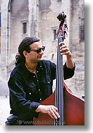 bass, europe, france, people, players, provence, upright, vertical, photograph