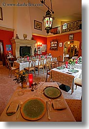 europe, france, interiors, provence, restaurants, vertical, photograph