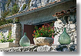 bottles, europe, flowers, france, horizontal, provence, scenics, photograph