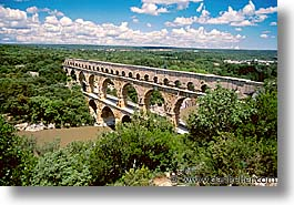 bridge, europe, france, horizontal, pont du gard, provence, scenics, photograph