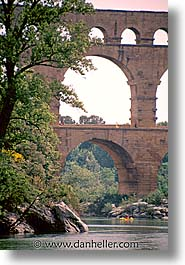 bridge, europe, france, pont du gard, provence, scenics, vertical, photograph