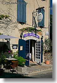 entrance, europe, france, hotels, provence, seillans, vertical, photograph