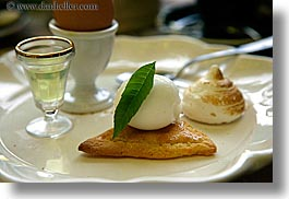 desserts, europe, foods, france, horizontal, ice cream, provence, seillans, tart, photograph