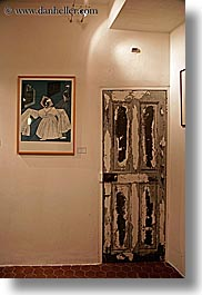 arts, doors, europe, france, modern, modern art, provence, seillans, vertical, photograph