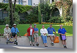 colorful, europe, france, groups, horizontal, people, provence, womens, photograph