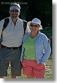 clothes, colors, couples, craig, europe, france, green, groups, hats, mary, mary craig, men, oranges, people, provence, sunglasses, vertical, womens, photograph