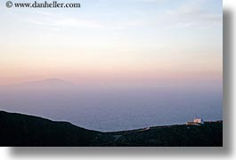 amorgos, churches, europe, greece, hills, horizontal, photograph