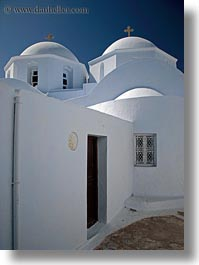 amorgos, churches, doors, europe, greece, narrow, streets, vertical, white, white wash, photograph