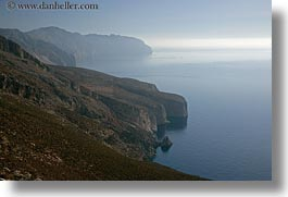 amorgos, cliffs, europe, greece, horizontal, ocean, rockies, scenics, photograph