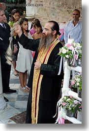 athens, baptism, bearded, europe, greece, priests, vertical, photograph