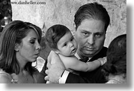 athens, babies, baptism, black and white, europe, fathers, greece, horizontal, mothers, photograph