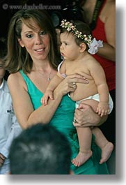athens, babies, baptism, colors, europe, greece, green, mothers, vertical, photograph