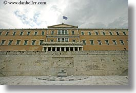 athens, buildings, europe, greece, horizontal, parliament, photograph