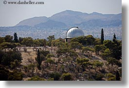 athens, buildings, europe, greece, horizontal, observatory, photograph