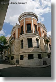 athens, buildings, corner, europe, greece, round, vertical, photograph