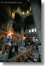 athens, churches, europe, greece, interiors, vertical, photograph