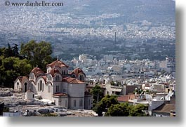 athens, churches, cityscapes, europe, greece, horizontal, photograph