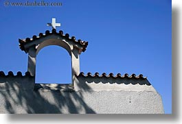 arches, athens, churches, crosses, europe, greece, horizontal, shadows, sky, photograph