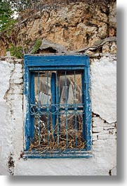 athens, blues, europe, greece, old, vertical, windows, photograph
