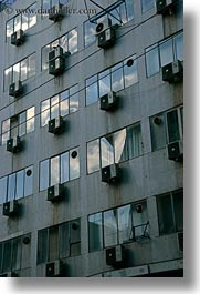 air conditioners, athens, europe, greece, reflective, vertical, windows, photograph