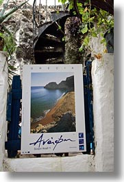 athens, europe, greece, greek, posters, vertical, photograph