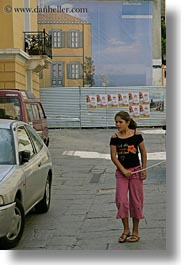 athens, europe, girls, greece, people, sticks, vertical, photograph