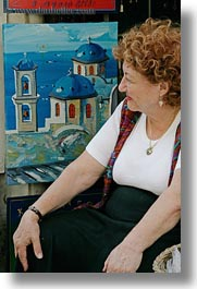 athens, europe, greece, greek, paintings, people, vertical, womens, photograph