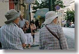 athens, europe, greece, hats, horizontal, people, womens, photograph