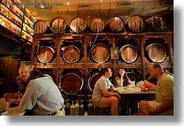 athens, barrels, europe, greece, horizontal, people, shops, photograph