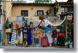 athens, europe, greece, horizontal, shops, stores, streets, photograph