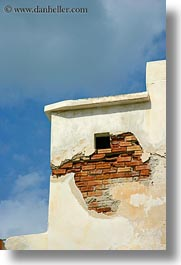 bricks, doors & windows, europe, exposed, greece, naxos, tiny, vertical, windows, photograph