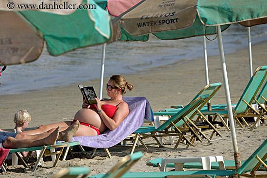 pregnant woman at beach big Fairy tale world,3D three dimensional puzzle, 3D paper models,3d puzzle,free ...
