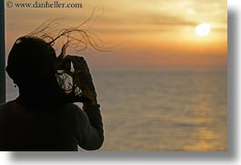 cameras, europe, flying, greece, hair, horizontal, naxos, scenics, sunrise, photograph