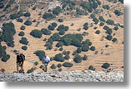 europe, greece, hikers, horizontal, naxos, scenics, photograph
