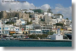 europe, greece, harbor, horizontal, naxos, towns, photograph