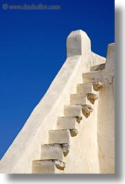 churches, europe, greece, slope, stairs, tinos, vertical, photograph