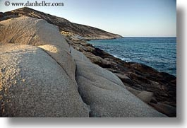 europe, greece, horizontal, ocean, rocks, tinos, photograph