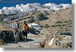 barbara, clothes, europe, greece, hats, horizontal, people, rao, senior citizen, sunglasses, tourists, womens, photograph