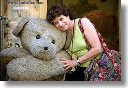 angela, angela lo re, bears, big, europe, groups, horizontal, hungary, people, senior citizen, teddy, womens, photograph